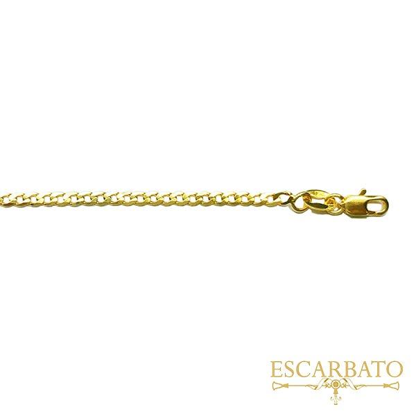 Cadena Cubana diamantada 65 cm