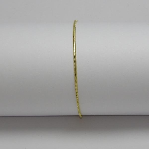 PULSERA ORO LAMINADO Pulsera Serpiente 20cm