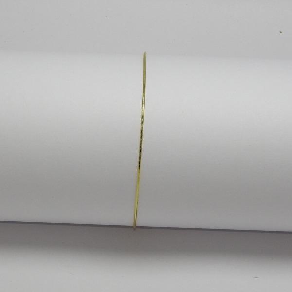 TOBILLERA ORO LAMINADO Tobillera Cola Raton 24.5cm2