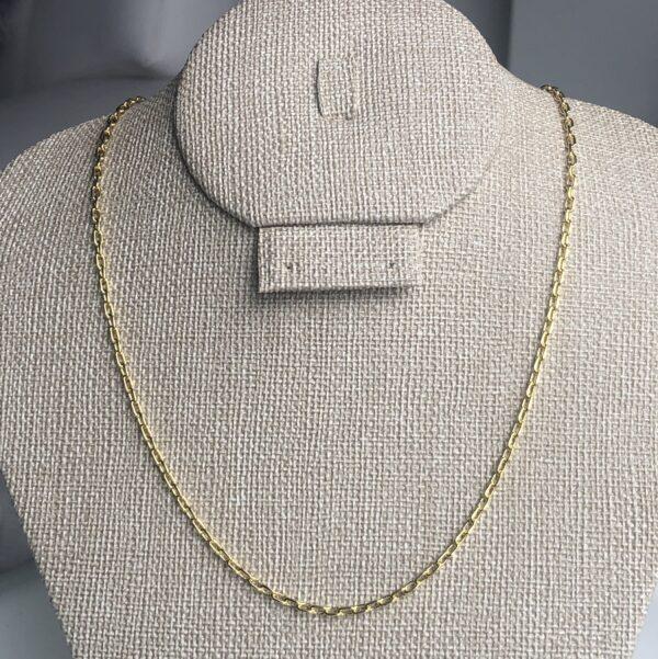 _Cadena eslabonada rectangular 0.2X45cm_$125