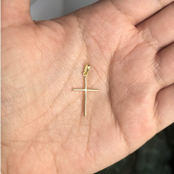 Cruz delgada 1.3x2cm_$50