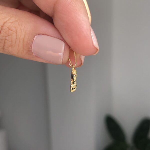 Dije Abeja Circonias 1.4x1.2cm_$50