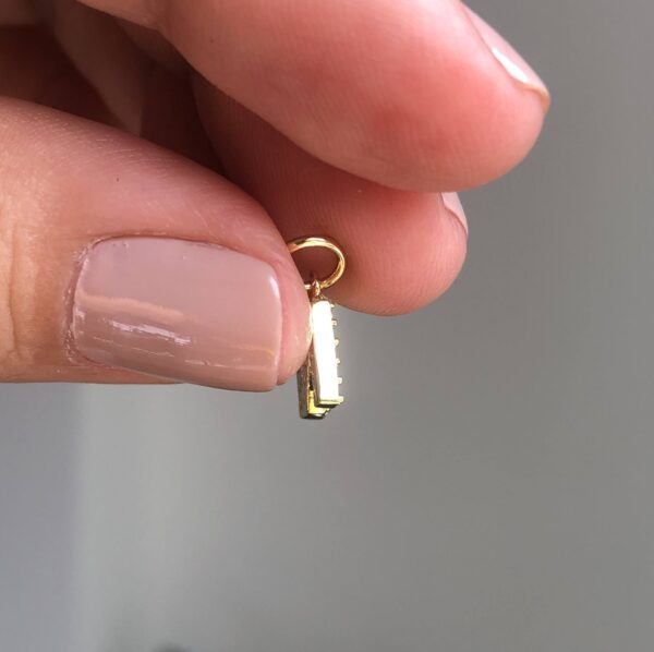 Dije Letra Mini N 0.65x0.7cm_$40