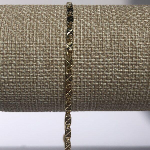 Tobillera Destellos 0.25x24.5cm_$105